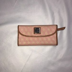 Handbags - Dooney and Bourke pink wallet